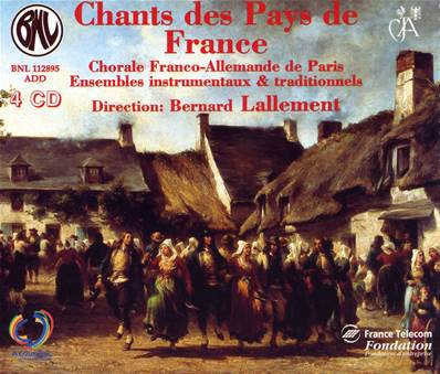 Chants des Pays de France - Coffret 4 CD