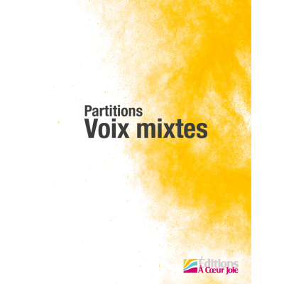 Partitions Chant Choral Voix mixtes